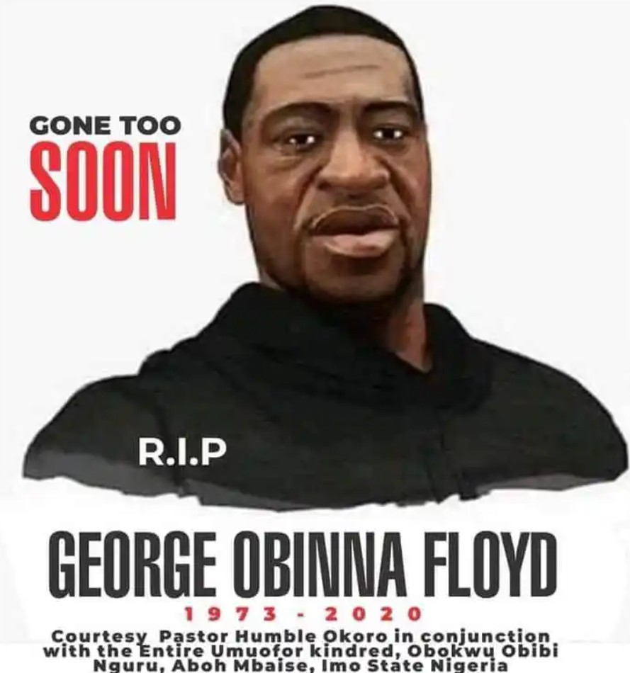 Nigerian Pastor reburies George Floyd in Imo state | www.exoticempireng.com.ng