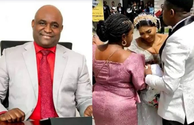 Pastor who 'cancelled' wedding